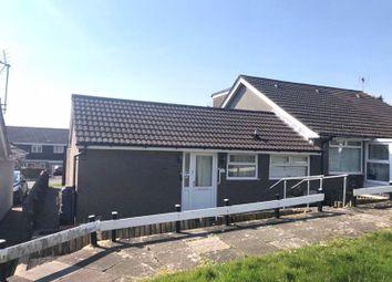 Thumbnail 2 bed semi-detached bungalow to rent in Trem-Y-Mor, Brackla, Bridgend