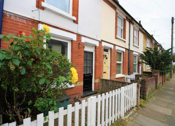 Thumbnail 2 bed terraced house to rent in Lisle Road, Colchester