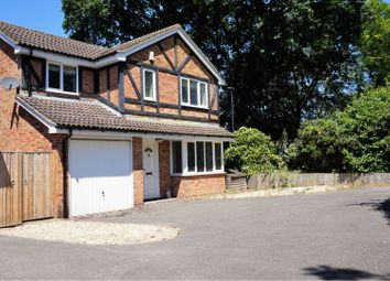 Thumbnail 4 bed detached house for sale in Sandstone Close, Wokingham