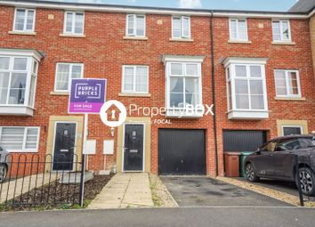 Thumbnail 4 bedroom terraced house for sale in Molyneux Square, Peterborough