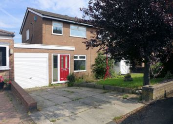 Thumbnail 3 bedroom semi-detached house for sale in Westbank Road, Lostock, Bolton, 4He.