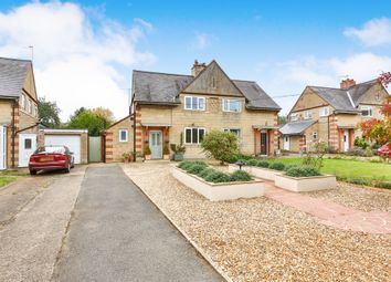Thumbnail 3 bed semi-detached house for sale in The Crescent, White Cross Road, Swaffham