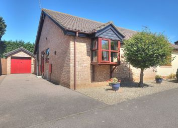 Thumbnail 2 bed semi-detached bungalow for sale in Fen Green Close, Lowestoft