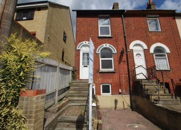 Thumbnail 3 bed terraced house to rent in Luton Road, Chatham