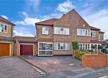 Thumbnail 4 bed semi-detached house for sale in Pickford Close, Bexleyheath, Kent