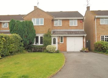 Thumbnail 4 bed detached house for sale in Cromwell, Freshbrook, Swindon