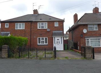Thumbnail 3 bed semi-detached house to rent in Burton Crescent, Wolverhampton
