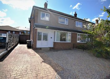 Thumbnail 3 bed semi-detached house for sale in Woburn Drive, Waterloo, Huddersfield