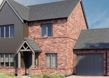 Thumbnail 4 bed detached house for sale in Plot 6 - Village Walk, New Road, Studley
