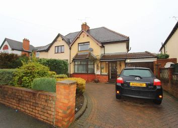 Thumbnail 3 bedroom semi-detached house for sale in Lincoln Road, Walsall