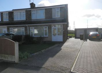Thumbnail 3 bed semi-detached house for sale in Newbery Avenue, Long Eaton