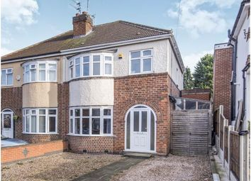 Thumbnail 3 bedroom semi-detached house for sale in Wigley Road, Leicester, Leicestershire