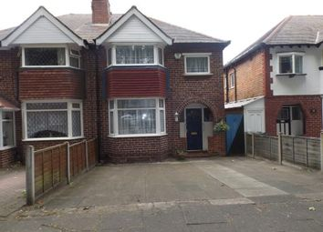 Thumbnail 3 bedroom semi-detached house for sale in Allendale Road, Birmingham, West Midlands
