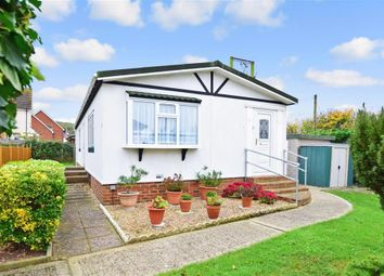 Thumbnail 2 bedroom mobile/park home for sale in Church Lane, Seasalter, Whitstable, Kent