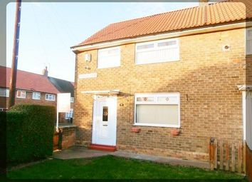 Thumbnail 2 bedroom end terrace house to rent in Torridge Grove, Longhill, Hull