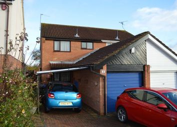 Thumbnail 3 bed semi-detached house for sale in Woodborough Gardens, Wakes Meadow, Northampton