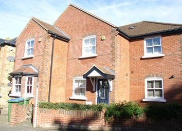 Thumbnail 3 bed terraced house for sale in Albany Road, Hersham, Walton-On-Thames
