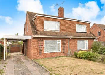 Thumbnail 3 bed semi-detached house for sale in Edwin Road, Didcot