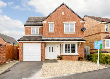 Thumbnail 3 bed detached house for sale in Berilldon Drive, Lincoln