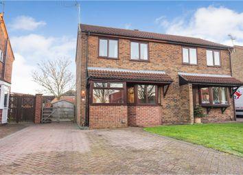 Thumbnail 2 bed semi-detached house for sale in Oakdene Avenue, Bracebridge Heath