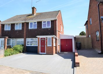 Thumbnail 3 bed semi-detached house for sale in Valerian Road, Hedge End, Southampton, Hampshire