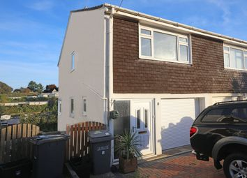 Thumbnail 3 bed semi-detached house to rent in Grange Heights, Paignton