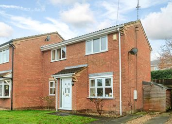 Thumbnail 3 bed semi-detached house for sale in Juniper Close, Lutterworth, Leicestershire