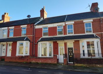 Thumbnail 3 bedroom terraced house to rent in Evelyn Street, Barry