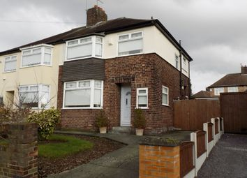 Thumbnail 3 bed semi-detached house to rent in Chelwood Ave, Childwall, Liverpool