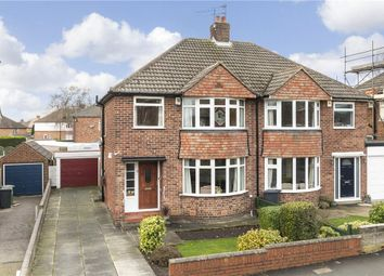 Thumbnail 3 bed semi-detached house for sale in The Mount, Alwoodley, Leeds, West Yorkshire