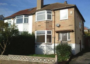 Thumbnail 3 bed semi-detached house to rent in Allerton Grange Drive, Leeds
