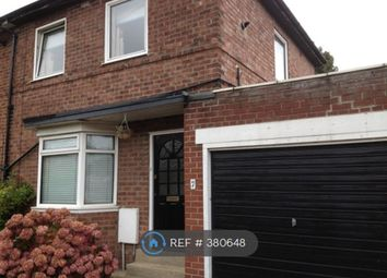 Thumbnail 3 bed semi-detached house to rent in Cross Way, South Shields