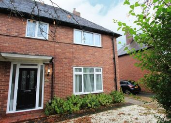Thumbnail 3 bed semi-detached house for sale in Cranford Road, Wilmslow, Cheshire