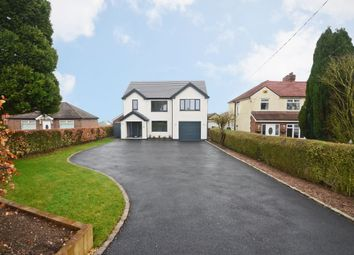 Thumbnail 4 bed detached house for sale in Sandon Road, Meir Heath