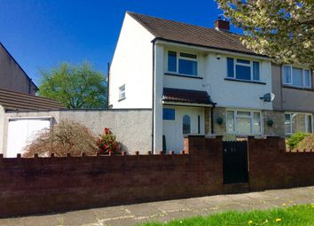 Thumbnail 3 bed semi-detached house for sale in Llanover Road, Michaelston-Super-Ely, Cardiff