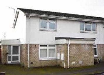 Thumbnail 2 bed flat to rent in Heol Y Llan, Swansea