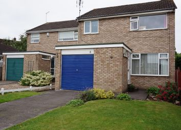 Thumbnail 3 bedroom detached house for sale in Nook Close, Ratby
