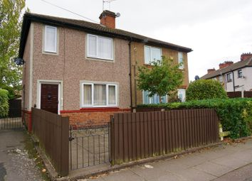 Thumbnail 3 bedroom semi-detached house for sale in Roundhouse Road, Coventry