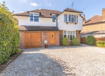 Thumbnail 4 bed detached house for sale in Bray Road, Stoke D'abernon, Cobham
