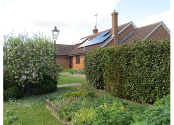 Thumbnail 4 bed detached bungalow for sale in Barnston, Dunmow