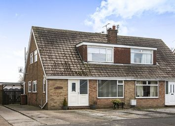 Thumbnail 4 bed semi-detached house for sale in Cawood Crescent, Skirlaugh, Hull