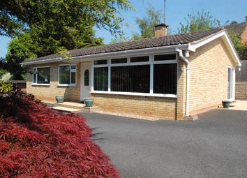 Thumbnail 3 bed detached bungalow for sale in Southbank Road, Hereford