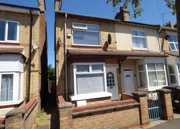 Thumbnail 2 bed end terrace house for sale in Belsize Avenue, Peterborough