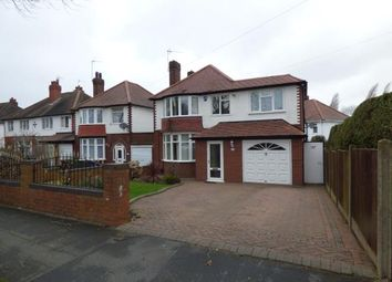 Thumbnail 4 bed detached house for sale in Walstead Road, Walsall, West Midlands
