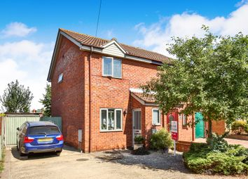 Thumbnail 2 bed semi-detached house for sale in Meadow Way, Hellesdon, Norwich
