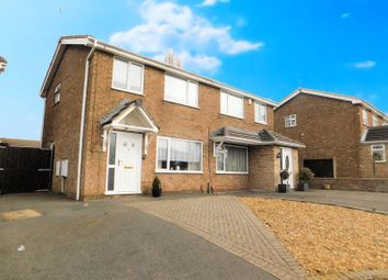 Thumbnail 3 bed semi-detached house for sale in Barr Crescent, Whitwick, Coalville