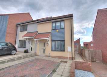 Thumbnail 2 bed semi-detached house for sale in Walwick Fell, The Rise, Newcastle Upon Tyne