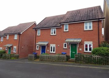 Thumbnail 2 bed semi-detached house to rent in Woodbury Rise, East Harnham, Salisbury
