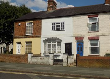 Thumbnail 2 bed terraced house to rent in Victoria Road, Bletchley, Milton Keynes, Buckinghamshire