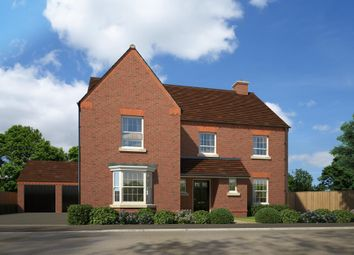 "Thumbnail 5 bed detached house for sale in ""Manning"" at Fox Lane, Green Street, Kempsey, Worcester"